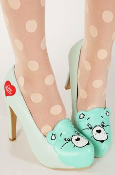 35554cebb0 Iron Fist Women s Care Bears Stare Platform Dress Pump