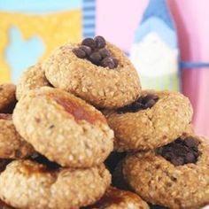 cookies with almonds, olive oil and honey