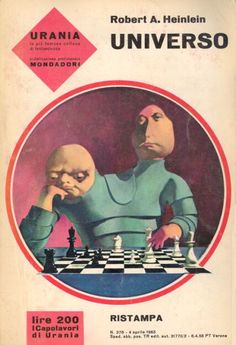 Robert A. Heinlein Universo (Orphans of the Sky)  Copertina di Karel Thole