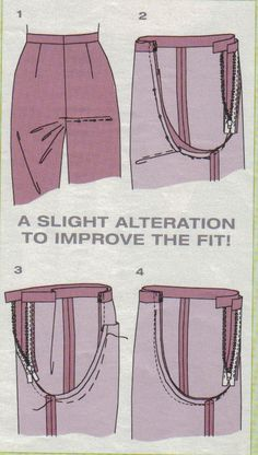 Trousers/ Pants fitting