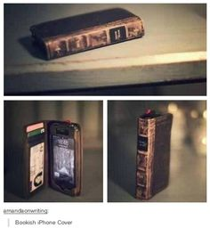 ❦ Book iPhone Cover