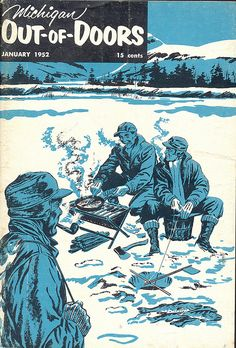We did lots of ice fishing when I was a kid.  Eventually, we made an ice hut and pulled it out onto the lake with a snowmobile