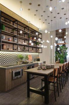 cozinha industrial deixa o ambiente mais moderno