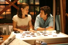 13 Going on 30 (2004) Movie Stills - Jennifer Garner (Jenna Rink) and Mark Ruffalo (Matt Flamhaff) #JenniferGarner #MarkRuffalo #13Goingon30