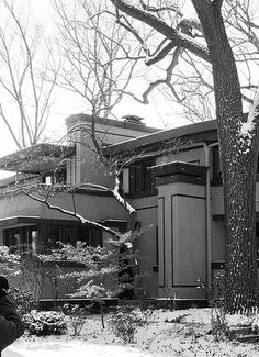 Mrs. Thomas H. Gale House (1909), Oak Park, Chicago, Frank Lloyd Wright