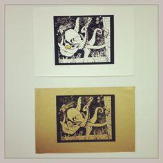 Printmaking // Photo by rashelle_belle via Instagram
