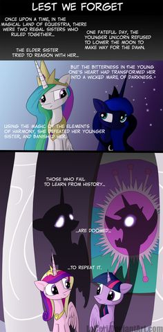 MLP Lest We Forget by LoCeri.deviantart.com on @deviantART...this would be amazing for it to happen on the show