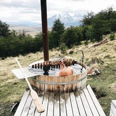 27 Outdoor Hot Springs, Tubs & Pools To Warm Up Your Winter Travels | Awasi Patagonia | Photo: Lauren Wells