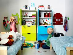Kinderzimmer ikea stuva  Friedrichs neues Kinderzimmer | Shared bedrooms, Bedrooms and Room