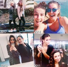 Lisa and Lauren Cimorelli loom how much they grew Cimorelli Sisters, Lauren Cimorelli, Sad Girl, Cool Girl, My Best Friend, Best Friends, Maddie And Mackenzie, Christina Grimmie, Girl Bands