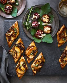 Williams Sonoma's Caramelized Onion and Apple Tarts with Gruyère and Thyme