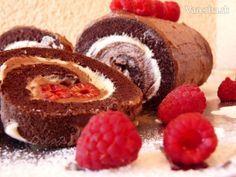 Kakaová roláda (fotorecept)