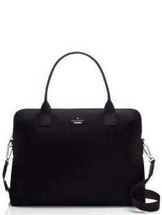 classic nylon daveney laptop bag - kate spade new york