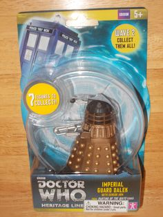 Doctor Who 3 3/4-Inch Imperial Guard Dalek Black Dome with Sensor Action Figure