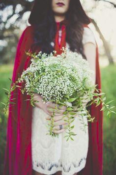 Little Red Riding Hood Wedding Inspiration