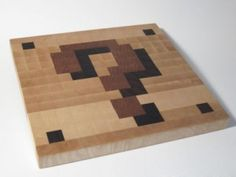 ...the office. A Mario game cutting board