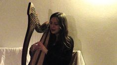 """Men of Snow"" by Ingrid Michaelson - Celtic Harp&Voice Cover"