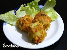 RECEITAS DONA JULIA - Blog de Culinária Gastronomia e Receitas: BOLINHO DE MANDIOCA