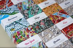 CITIx60 city guide books presented by 60 creatives — Designspiration