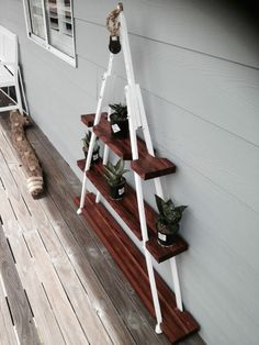 old wooden crutches, the beautiful wood was restored from a old work bench left behind in our home