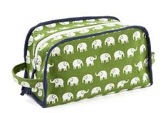 Elephants Dop Kit , Green on OneKingsLane.com - totally love this!
