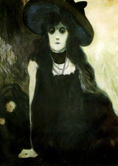 The absinthe drinker (Léon Spilliaert, 1907)