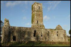 Moore Abbey in the beautiful Glen of Aherlow - by Susan Cloonan
