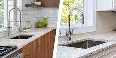 Granite Slab, Quartz Countertops, Kitchen Countertops, Countertop Options, Countertop Materials, Kitchen Cabinet Kings, Porous Materials, Engineered Stone, Kitchen Remodel