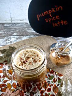 the preppy paleo: Paleo Pumpkin Spice Latte