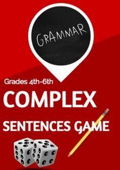 Writing Complex Sentences (scheduled via http://www.tailwindapp.com?utm_source=pinterest&utm_medium=twpin&utm_content=post1027615&utm_campaign=scheduler_attribution)