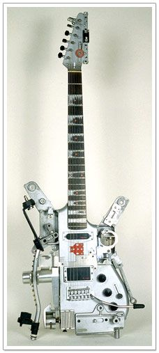 Bizarre Guitars: Custom Made Awesome Axes, From Carved to Steampunked