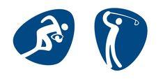 En cada edición de los Juegos Olímpicos hay deportes y disciplinas deportivas que entran y otras que dejan de formar... Rugby, Logos, Olympic Games, Golfers, Sports, Logo, Football