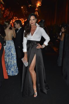 Luiza Brunet no Baile da Vogue 2016 | Blog Dudalina