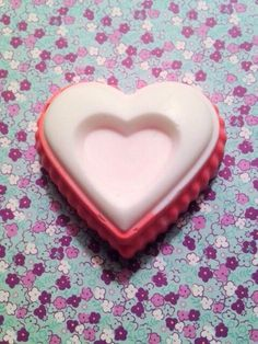 A personal favorite from my Etsy shop https://www.etsy.com/listing/493479996/heart-shaped-soap-valentines-day-soap