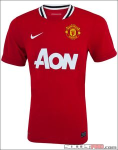 Nike Youth Manchester United Home Jersey 2011-2012...$41.99