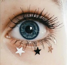 Imagen de stars, blue, and eyes