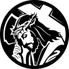 Jesus Carrying The Cross Free vector. More Free Vector Graphics, www.123freevectors.com