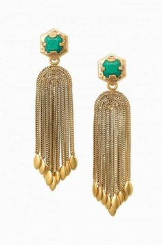 The Odeon Chandelier Earrings make an impact wherever they go with their…