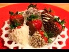 Excellent tutorial on decorating chocolate dipped strawberries  http://www.youtube.com/watch?v=zqgZc_TYWU4=colike