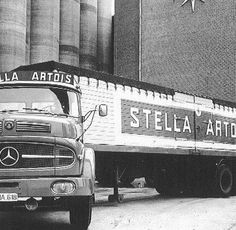 Stella Artois beer delivery truck powered by Mercedes Benz Mercedes Benz Commercial, Stella Artois Beer, Mercedes Benz Trucks, Antique Trucks, Classic Mercedes, Transporter, Classic Trucks, Old Trucks, Brewery