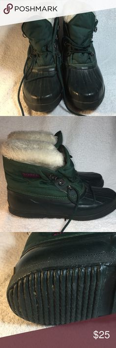 Sorel boots Sorel boots made in Canada ready for those winter snowy rainy days and water proof Sorel Shoes Winter & Rain Boots