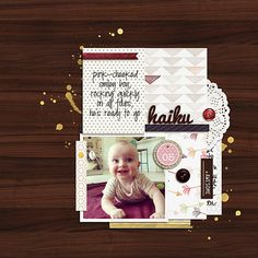 Pair Your Photo with Haiku Journaling to Evoke a Moving Moment | Celeste Smith | Get It Scrapped