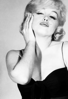 """msmildred:  Marilyn in a wardrobe test for """"Let's Make Love"""", 1960."""