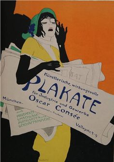 Poster by Walter Schnackenberg (1880–1961), 1920s., Plakate. (G)