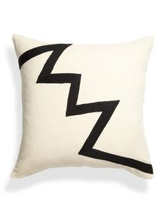 Archimedes Zig Zag Pillow by Leah Singh on Gilt Home