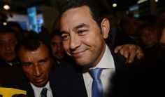 Comedian Jimmy Morales elected Guatemala president