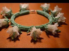 Russian flower bracelet. Not for beginners.  ~ Seed Bead Tutorials