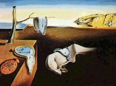 La persistencia de la memoria ó mas conocido como,Los Relojes Blandos de Salvador dali (Figueras) spain