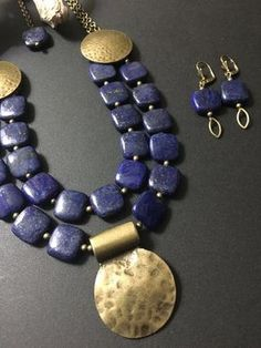Gold standard: incorporating gold in jewelry projects Chunky Jewelry, Tribal Jewelry, Statement Jewelry, Boho Jewelry, Jewelry Sets, Gemstone Jewelry, Jewelry Accessories, Handmade Jewelry, Jewelry Design