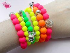 Summer neon bracelets!